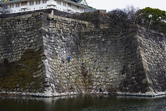 Osaka castle (Flutechill) Tags: famousplace architecture history travel tourism castle asia tower cultures tourist traveldestinations water fort river buildingexterior builtstructure ancient osakacastlepark osaka osakacastle japan japaneseculture japaneseethnicity historical