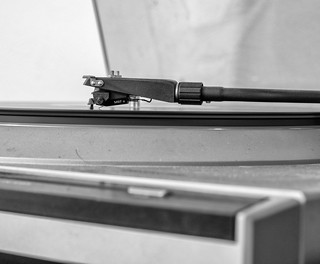 Dusty Record Player