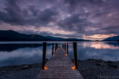Ashness Jetty (Daniel Coyle) Tags: ashnessjetty ashness jetty derwentwater lake lakedistrict cumbria nationaltrust natural nature water reflections candles dusk clouds longexposure nikon nikond7100 d7100 danielcoyle uk england pier landing