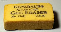 General's (Retro Photo International) Tags: generals gum eraser made usa carl zeiss jena tessar 50mm 35 macromondays