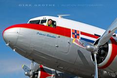 DDA_DC-3_PH-PBA_20180715_LBC-10 (Dirk Grothe | Aviation Photography) Tags: classic dutch dakota dc3 phpba lbc lübeck dda