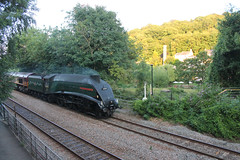 60009 at Avoncliff (g4vvz) Tags: lner a4 60009 union of south africa uk sir nigel gresley br green steam machine train avoncliff wiltshire ban