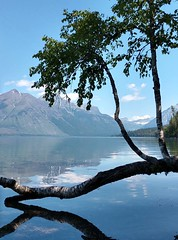 Lake McDonald (snow41) Tags: lakemcdonald glaciernationalpark montana takenbydaughter