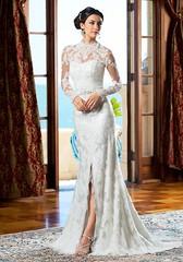 Wedding Dresses  : Strapless lace slip wedding dress | Kittychen | trib.al/AL3PItr (adlmagdotnet) Tags: