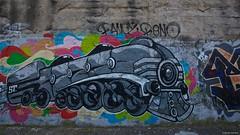 IMGP5501 Train (Claudio e Lucia Images around the world) Tags: viaplezzo lambrate milano murale murales graffito graffiti street streetart muro wall ferrovia railway pentax pentaxk3ii sigma sigma1020 pentaxart sigmaart city urban lotta train