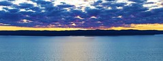 Sunset Over Lake Superior (f/ames) Tags: lakesuperior ontario canada thunderbay sunset clouds colors water beautiful canon5d mkii