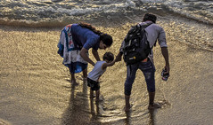 """""""To be in your children's memories tomorrow,You have to be in their lives today"""" (Ramalakshmi Rajan) Tags: nikon nikond5000 nikkor18140mm kids kid people sunset dusk parenting quotes travel srilanka beach"""