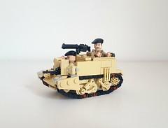 Universal Carrier (Project Azazel) Tags: projectazazel lego ww2 custom brickarms universalcarrier uc legouniversalcarrier