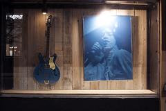 Mick Jagger (Curtis Gregory Perry) Tags: olympia washington night mick jagger guitar hagstrom blue photograph photo window nikon d810 long exposure hagström