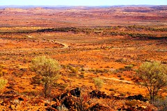 The Living Desert from Sculpture Hill, Broken Hill, New South Wales, Australia (Red Nomad OZ) Tags: brokenhill sculpturesymposium livingdesert newsouthwales nsw australia outback lookout desert road landscape tree