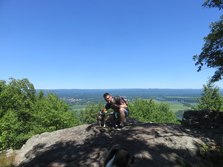 Danny and Leia On Mt Holyoke