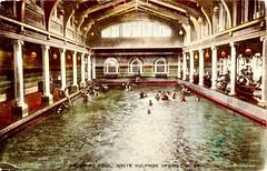 Postcard of  Sulphur Springs, W. Virginia, 1913 (Steven Czitronyi) Tags: postcard sulphur springs west virginia