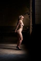 Desty (Sam ♑) Tags: desty sam act akt lostplace essen frau woman girl nackt nude licht light 85mm sony bondage seil