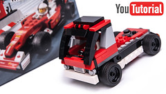 75879 Truck alternate (KEEP_ON_BRICKING) Tags: lego speed champions ferrari f1 set 75879 alternate alternative rebuild remake remix model build truck car vehicle cargo race racing red italian keeponbricking howtobuild howtomake tutorial instructions building