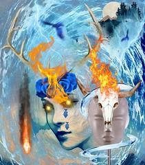 elementals (CatnessGrace) Tags: digitalmania surrealism