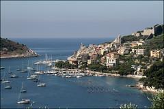 Cartolina da Portovenere (Maulamb) Tags: portovenere cinqueterre mare barche porto