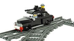 Custom Railcar Metro 2033 (de-marco) Tags: lego metro car rail train city town