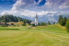 Church in the mountains (peter-goettlich) Tags: kirche church gebirge weg mountains path versam safiental schweiz switzerland surselva