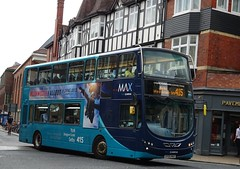 York (Andrew Stopford) Tags: ay05max yj59bua vdl db300 wright 2dl eclipse arriva max york