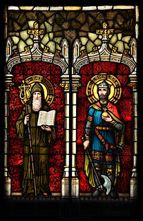 Christian Stained Glass Window