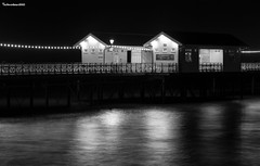 Night lit Penarth pier (technodean2000) Tags: ©technodean2000lrpsphotoshopnikcollectionnikontechnode ©technodean2000 lr ps photoshop nik collection nikon technodean2000 flickr photographer d810 wwwflickrcomphotostechnodean2000 www500pxcomtechnodean2000 goodwood festival speed gos 2017 night pier penarth d5300 lightroom lit south wales architecture building d610 uk outdoor bridge water arch city river dusk people photoadd sea beach black white
