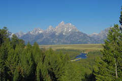 Tetons (akortrey) Tags: grandteton wyoming grandtetonnationalpark wilderness mountains forest trees river snakeriver