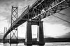 Pont de l'Île d'Orléans - Orlean Island Bridge (tad888) Tags: bridge pont orléans orlean island île québec fleuve river stlaurence stlaurent nb d750 tad888