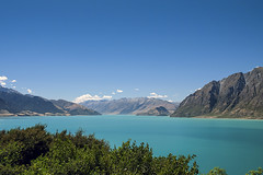 Lake Hawea (syf22) Tags: newzealand downunder kiwi travel vacation holiday water river lake blue landscape lakehawea mountains southernalps hill mount peak scenic view countryside