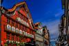Maisons colorées (CouleursPhotographie) Tags: couleursphotographie micaëlchevalley tourdesuisse2018 campingcar couleursphotographiech appenzell appenzellinnerrhoden suisse ch