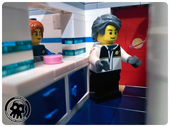 44-09 Blue cupboards & drawers (captainmutant) Tags: afol classic space lego ideas legospace legography photography minifig minifigs minifigure minifigures moc sciencefiction science fiction scifi exploration brickography toy custom
