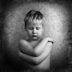 Boy (dennywallden) Tags: kid blackandwhite child portrait