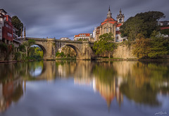 Amarante, Portugal (paulosilva3) Tags: sunrise romantic view bridge sgonçalo amarante portugal canon eos manfrotto lowepro lee filters