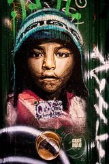 Ethnic child by @guate.mao (j.borras) Tags: ethnic child face portrait by guatemao spraypaint graffiti urban urbanart streetart streetartist streetphotography barcelona walkbyshooting walking wandering igersbcn igersbarcelona igerscatalunya igersgraffiti fujifilmxseries fujixlovers 23mm bikestyle bikewander bikeexperience guatémao