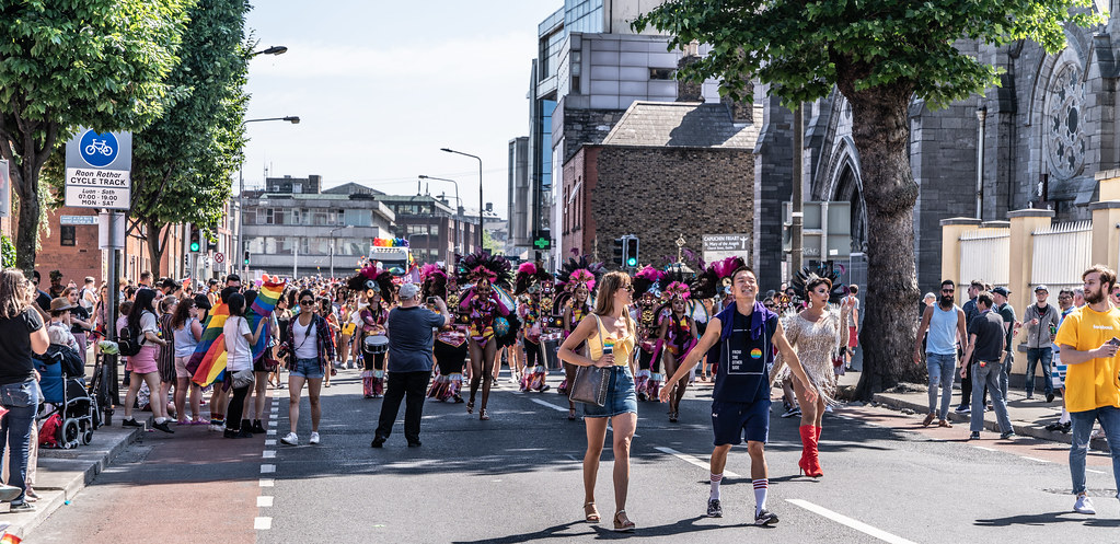 ABOUT SIXTY THOUSAND TOOK PART IN THE DUBLIN LGBTI+ PARADE TODAY[ SATURDAY 30 JUNE 2018] X-100185
