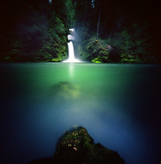A place to feel (Zeb Andrews) Tags: realitysosubtle6x6 kodakektar100 curlycreekfalls washington pacificnorthwest landscape film mediumformat 6x6 lensless spacetobreathe andspacetofeel