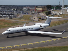 B-KVC Gulfstream G550 Metrojet Ltd (Aircaft @ Gloucestershire Airport By James) Tags: luton airport bkvc gulfstream g550 metrojet ltd bizjet eggw james lloyds