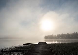 Kymijoki river at 5:50 am