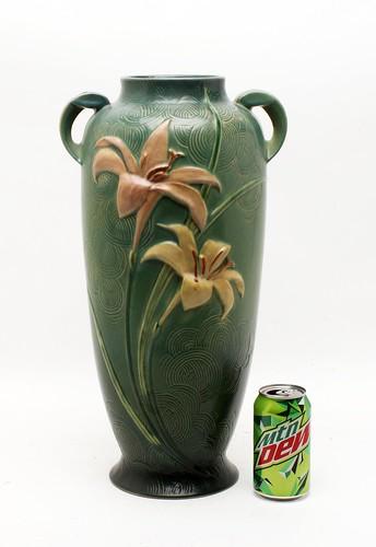 Roseville Zephyr Floor Vase ($145.60)