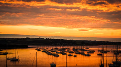 cornish sunrise (1 of 1) (steamnut777) Tags: sunrise falmouth cornwall canon holiday reflections dawn sea
