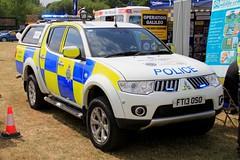 Lincolnshire Police Mitsubishi L200 Rural Crime Unit (PFB-999) Tags: lincolnshire lincs police lp mitsubishi l200 warrior pickup truck 4x4 rural crime unit vehicle lightbar grilles fendoffs leds ft13oso rescue day 2018