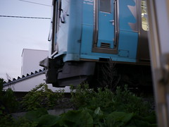 Departure (しまむー) Tags: panasonic lumix gx1 g 20mm f17 asph natural train tsugaru free pass 津軽フリーパス