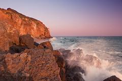 (RaffaLUCE) Tags: pointdume malibu california ocean rocks seaspray waves cliffs sunset fujixt2 landscapephotography