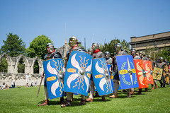 2016-06-05 - 20160605-018A8192 (snickleway) Tags: roman yorkshire museumgardens yorkromanfestival canonef1740mmf4lusm historicalreenactment park soldier york england unitedkingdom gb