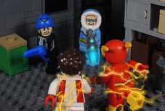 Warehouse Hideout (-Metarix-) Tags: lego minifig dc comics comic flash impulse rogues universe rebirth return pre new 52 warehouse hideout custom