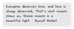 Everyone Deserves Love - Quotation (Logos: The Art of Photography) Tags: marcusaurelius quotation russellmcneil clothify