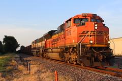 BNSF 9079 (CC 8039) Tags: bnsf trains sd70ace sd70mac sunset granite city illinois