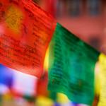 Prayer flags at Boudhanath Stupa, Kathmandu, Nepal thumbnail