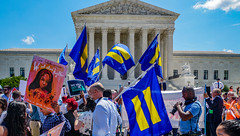 2018.06.26 Muslim Ban Decision Day, Supreme Court, Washington, DC USA 04023