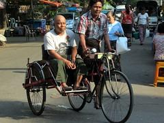 Cycle Rickshaw (D-Stanley) Tags: cycle rickshaws yangon myanmar burma