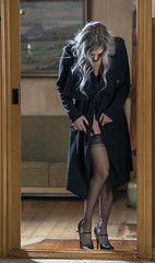 BTS (Bjartur Vest) Tags: stockings garters wrinkles